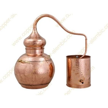 40 L Soldered Copper Moonshine Alembic Still