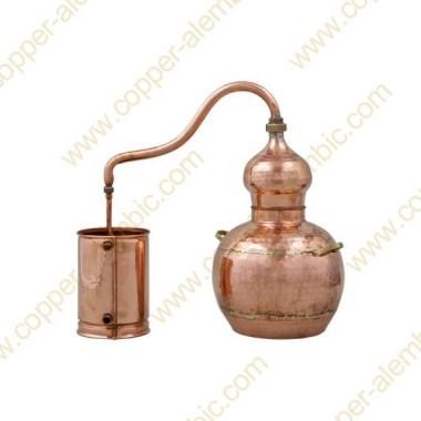 10 L Soldered Copper Moonshine Alembic Still Premium