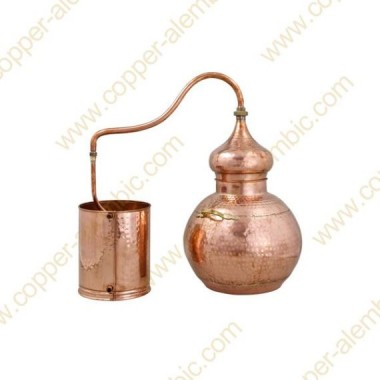 30 L Soldered Copper Moonshine Alembic Still Premium
