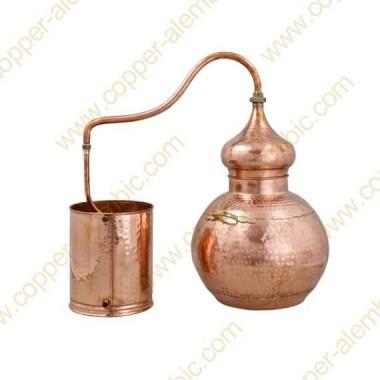 40 L Soldered Copper Moonshine Alembic Still Premium