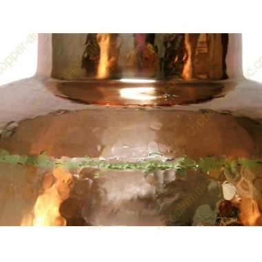 150 L Alambic en Cuivre Soudé Premium