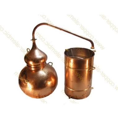 400 L Soldered Copper Moonshine Alembic Still Premium