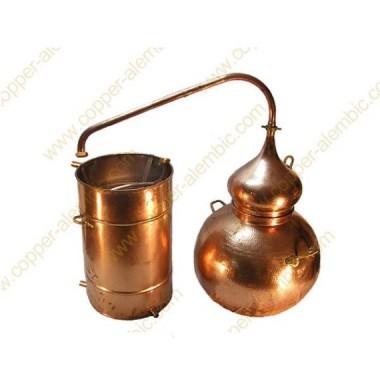 500 L Soldered Copper Moonshine Alembic Still Premium