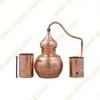 10 L Kupfer-Destillierkolben mit Rotierender Säule