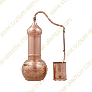 30 L Kupfer-Destillierkolben mit Rotierender Säule