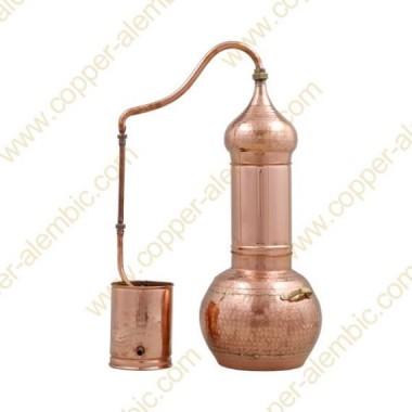 40 L Kupfer-Destillierkolben mit Rotierender Säule