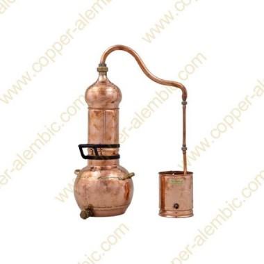3 L Kupfer-Destillierkolben mit Rotierender Säule Premium