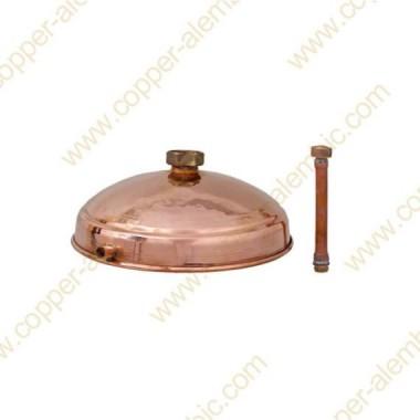 50 - 100 L Copper Refining Lentil - Dephlegmator