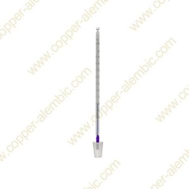Termómetro de Vidro com Rolha de Silicone 0 - 110 °C