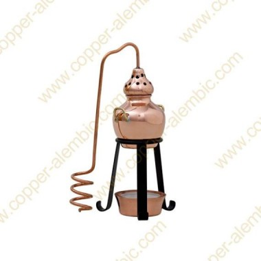 Essential Oils Diffuser Miniature Copper Alembic Still