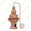 0,2 L Essential Oils Diffuser Copper Alembic Still