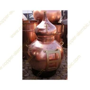 Metallgestell für die Entladung der Destillierkolben von 60 bis 100 L