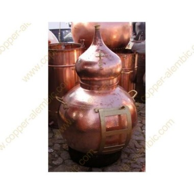 150 - 200 L Soporte Metálico para Descarga de Alambique