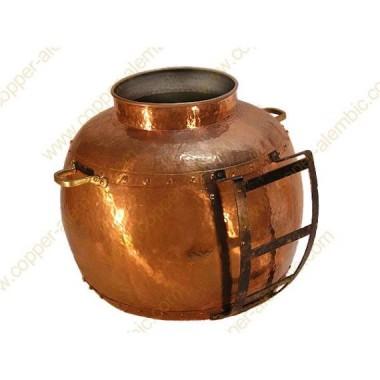 Metallgestell für die Entladung der Destillierkolben von 350 bis zu 400 L