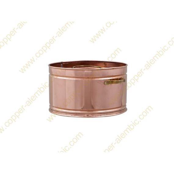 3 L Copper Water Bath Recipient