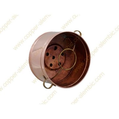 5 L Copper Water Bath Recipient