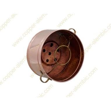 10 L Copper Water Bath Recipient