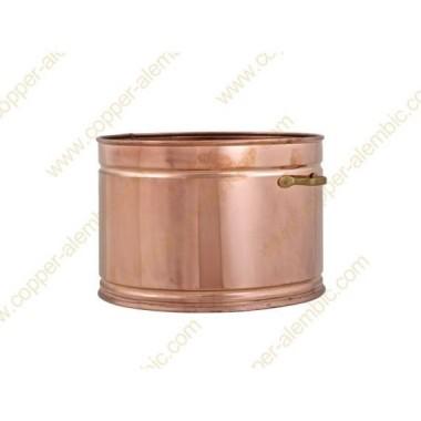 25 L Copper Water Bath Recipient