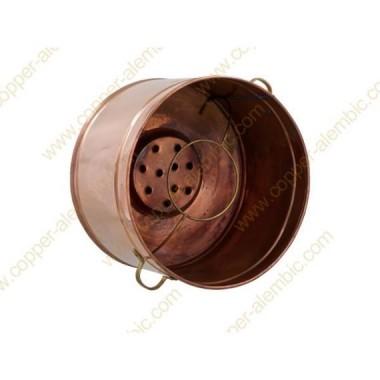 30 L Copper Water Bath Recipient