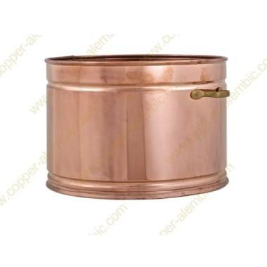 60 L Copper Water Bath Recipient