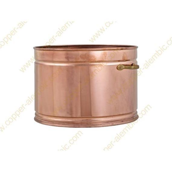 100 L Copper Water Bath Recipient