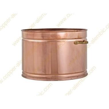 200 L Copper Water Bath Recipient