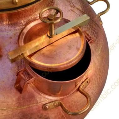 Kupfer / Messing Einsteigeloch (700-900L)