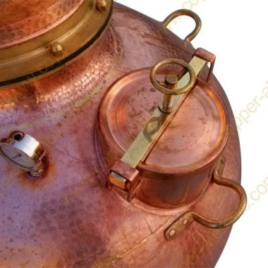 Over 1000 L Copper & Brass Manhole & Sealing System