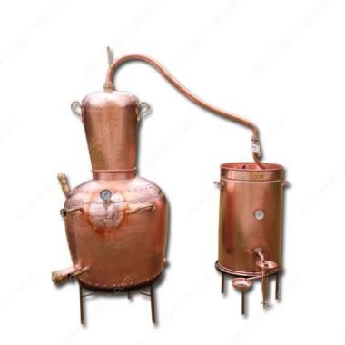 """130 L """"Marie-Bad"""" (Wasserbadtechnik) Destillierkolben"""