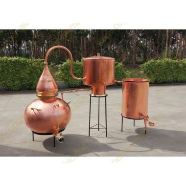 750 L Charentais Destillierkolben