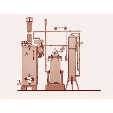Portugiesisches Arrastre de Vapor Destilliersystem 1 Destilliersäule