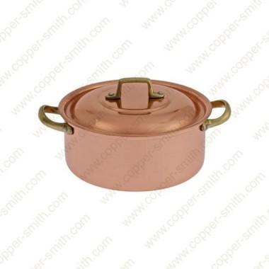 22 cm Casserole with Brass Handles