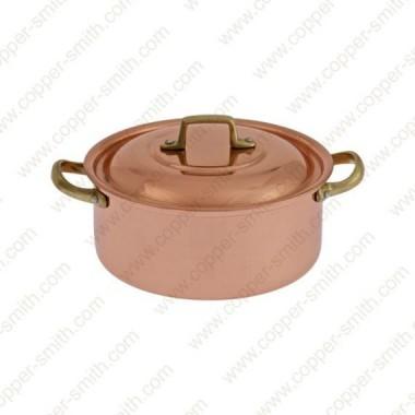 30 cm Casserole with Brass Handles