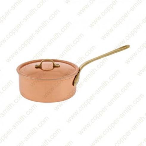 10 cm Casserole avec Poignée en Laiton