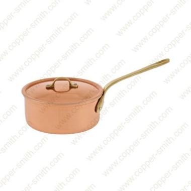14 cm Cacerola con Asa de Latón Simple