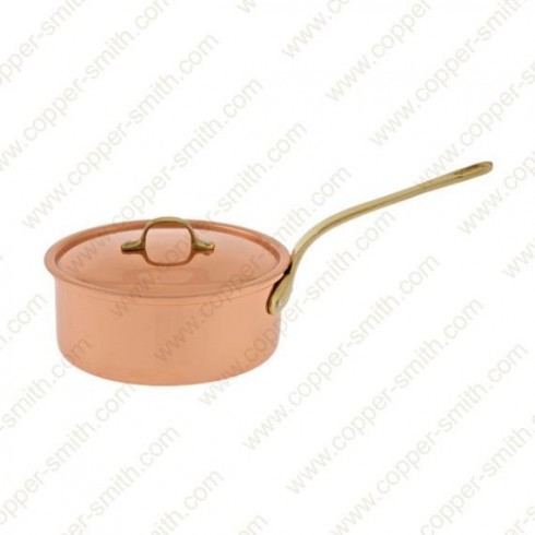 18 cm Casserole with Single Brass Handle