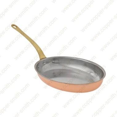 Medium Oval Frying Pan