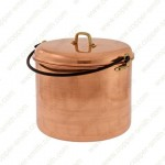 24 cm Plain Stewpot with Iron Arch