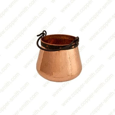 5 L Kupfer Kessel