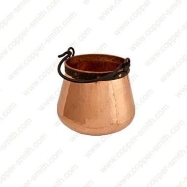10 L Kupfer Kessel