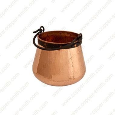 30 L Kupfer Kessel