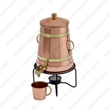 Kaffeekanne aus Kupfer