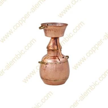 3 L Kupfer-Alquitar Stills mit Nietverbindungen