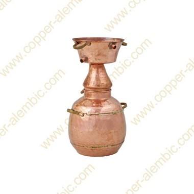 5 L Kupfer-Alquitar Stills mit Nietverbindungen