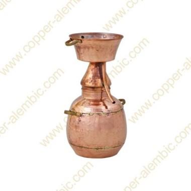 10 L Kupfer-Alquitar Stills mit Nietverbindungen