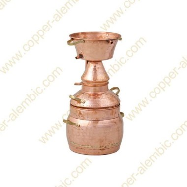 3 L Kupfer-Alquitar Stills mit Nietverbindungen Premium