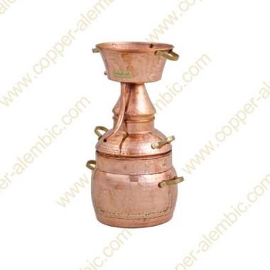 5 L Kupfer-Alquitar Stills mit Nietverbindungen Premium