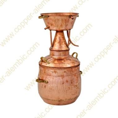 35 L Kupfer-Alquitar Stills mit Nietverbindungen Premium