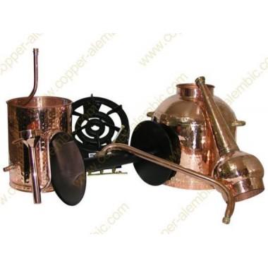 30 L Traditional Whiskey Pot Still Premium & Gas Burner