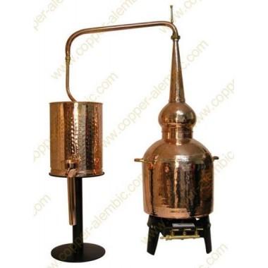 60 L Traditional Whiskey Pot Still Premium & Gas Burner